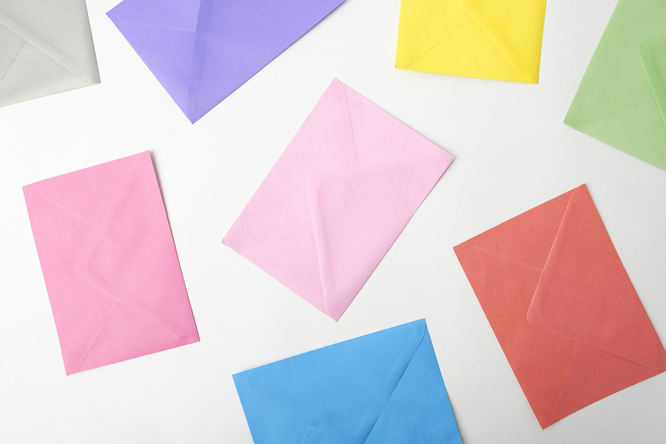 Image showing bright colored paper