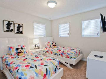 Choose a home with multiple living spaces and bedrooms, so everyone enjoys privacy and comfort