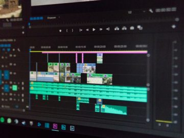 Cuts taken from raw footages in post-production software