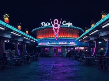 Flo's Café in Disney World, Orlando