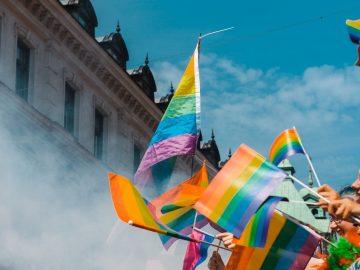 LGBTQIA flags