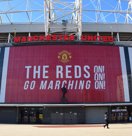 a football stadium entrance