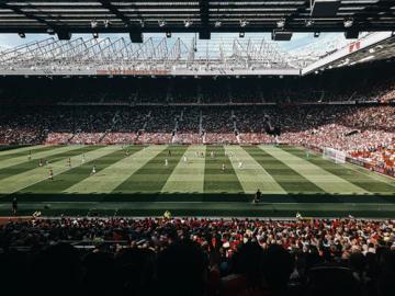 a packed football stadium