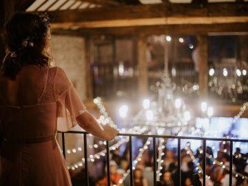 a laidback festival-themed wedding