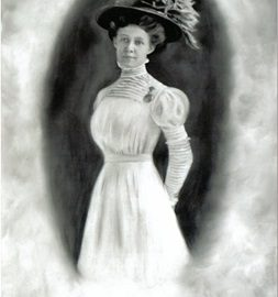 A Portrait of Frances Woodward from Joseph Woodward's Lost Between the Continents Trilogy